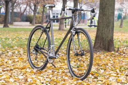 Steel gravel kerékpár