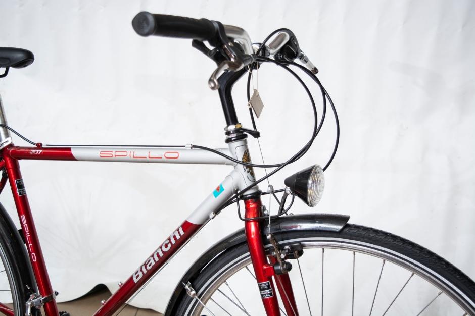 Bianchi acél városi kerékpár